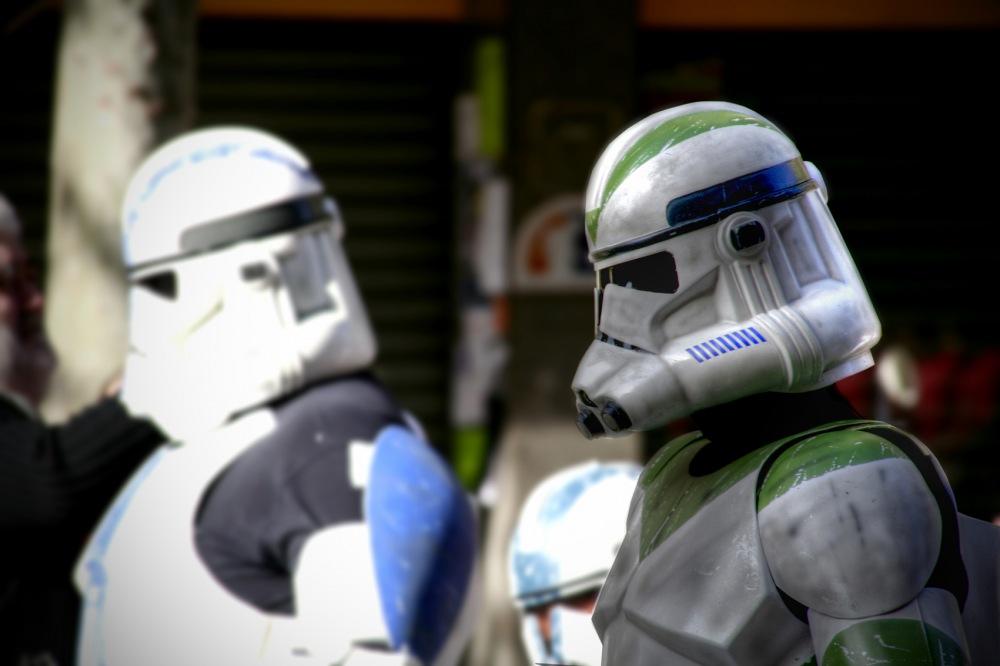 photoblog image Star Wars (desfile Barcelona)